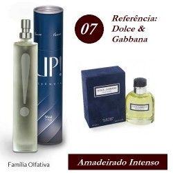 UP! 07 - Dolce   Gabbana - Masculino - 50ml - UP Essência - Macapá ... b69a50a0a8